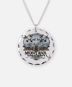 Montana wildlife Necklace