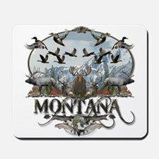 Montana wildlife Mousepad