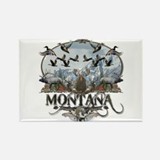 Montana wildlife Rectangle Magnet