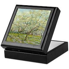 Van Gogh White Orchard Keepsake Box