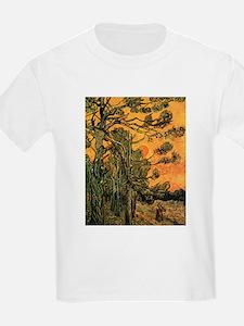 Van Gogh Pine Trees T-Shirt