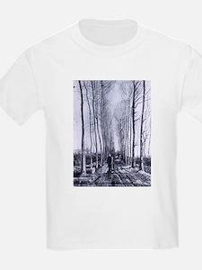 Van Gogh Poplar Avenue T-Shirt