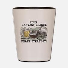 Draft Strategy Shot Glass