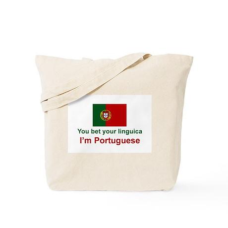 Portuguese Linguica Tote Bag