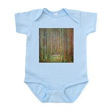 Gustav Klimt Pine Forest Infant Bodysuit