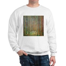 Gustav Klimt Pine Forest Sweatshirt
