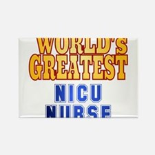 World's Greatest NICU Nurse Rectangle Magnet