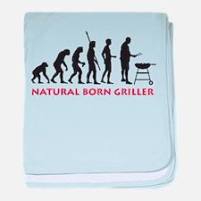 natural born griller baby blanket