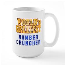 World's Greatest Number Cruncher Mug