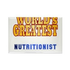 World's Greatest Nutritionist Rectangle Magnet