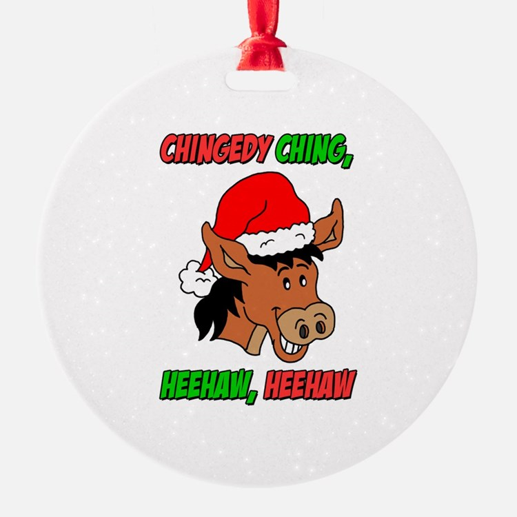 Italian Christmas Donkey Ornament