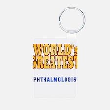 World's Greatest Ophthalmologist Keychains