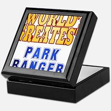World's Greatest Park Ranger Keepsake Box
