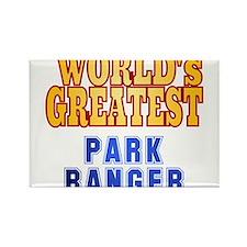 World's Greatest Park Ranger Rectangle Magnet
