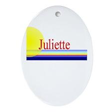 Juliette Oval Ornament