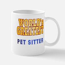 World's Greatest Pet Sitter Mug