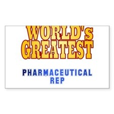 World's Greatest Pharmaceutical Rep Decal