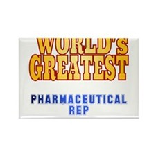 World's Greatest Pharmaceutical Rep Rectangle Magn