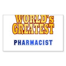 World's Greatest Pharmacist Decal