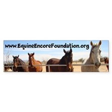 Equine Encore Foundation Bumper Sticker