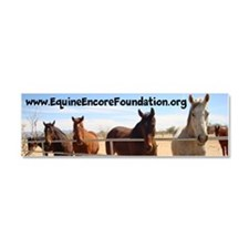 Equine Encore Foundation Car Magnet 10 x 3