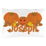 Halloween Pumpkin Joseph Pillow Case