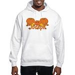 Halloween Pumpkin Joseph Hooded Sweatshirt