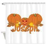 Halloween Pumpkin Joseph Shower Curtain