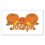 Halloween Pumpkin Joseph Sticker (Rectangle)