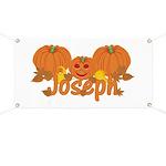 Halloween Pumpkin Joseph Banner