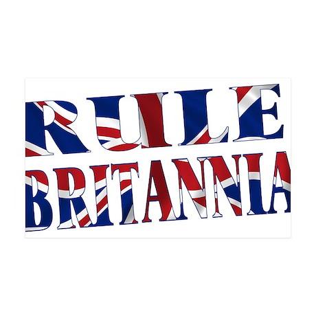 Rule Britannia 35x21 Wall Decal