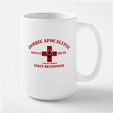 Zombie Rescue Squad Large Mug