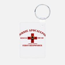 Zombie Rescue Squad Keychains