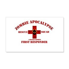 Zombie Rescue Squad Wall Sticker