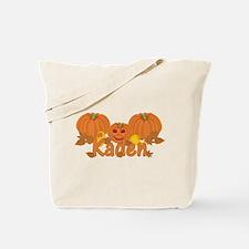 Halloween Pumpkin Kaden Tote Bag