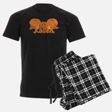 Halloween Pumpkin Kaden Pajamas