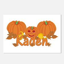 Halloween Pumpkin Kaden Postcards (Package of 8)