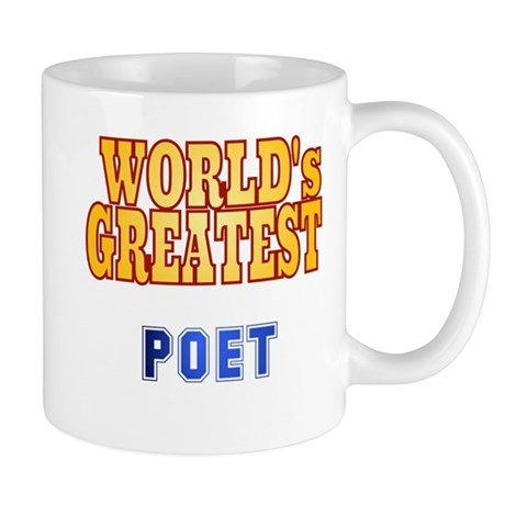 World's Greatest Poet Mug