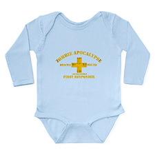Zombie Rescue Squad Long Sleeve Infant Bodysuit