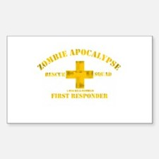 Zombie Rescue Squad Decal