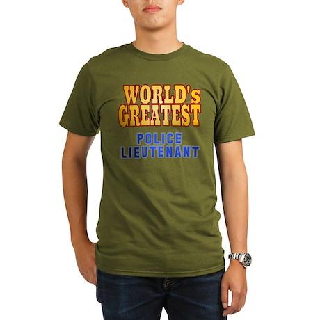 World's Greatest Police Lieutenant Organic Men's T
