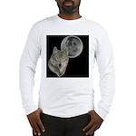 Wolf head Moon Long Sleeve T-Shirt