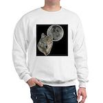 Wolf head Moon Sweatshirt