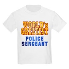World's Greatest Police Sergeant T-Shirt
