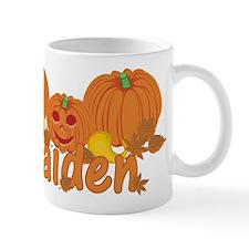 Halloween Pumpkin Kaiden Mug
