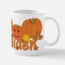 Halloween Pumpkin Kaiden Small Small Mug