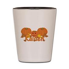 Halloween Pumpkin Kaiden Shot Glass