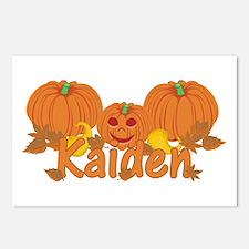 Halloween Pumpkin Kaiden Postcards (Package of 8)
