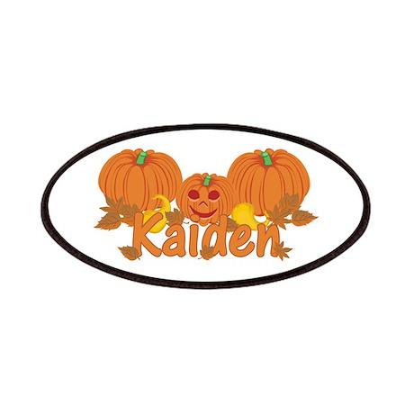 Halloween Pumpkin Kaiden Patches