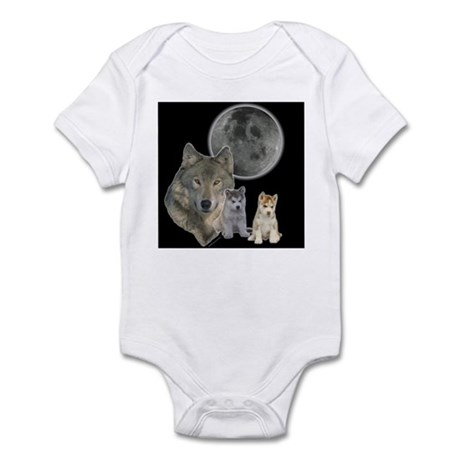 Wolf Mommy Infant Creeper